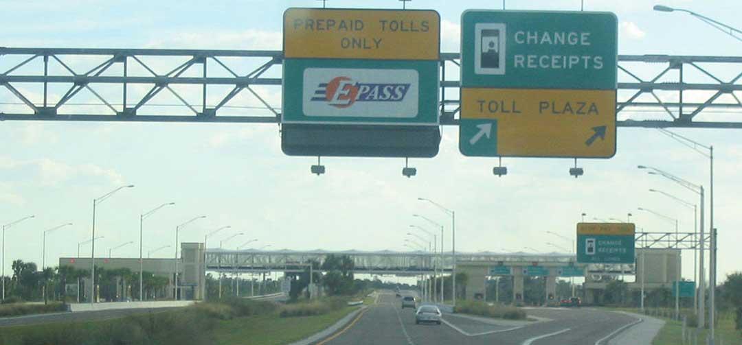 Hyrbil Florida, tips om tullvägar, toll roads.